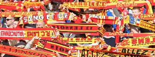 C'est officiel, le RC Lens monte en Ligue 1 !